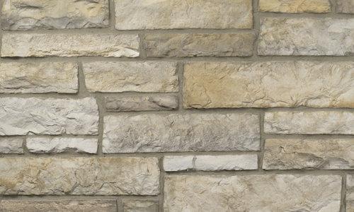 Decostone Aragone Beige, architektonisches Steinfurnier, künstlicher Stein, Oberflächenabdeckung 1.00m² pro Karton.