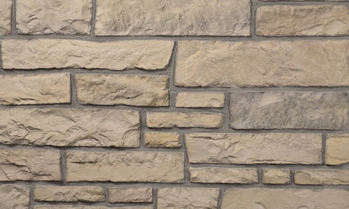 Decostone Aragone Bronze, architektonisches Steinfurnier, künstlicher Stein, Oberflächenabdeckung 1.00m² pro Karton.