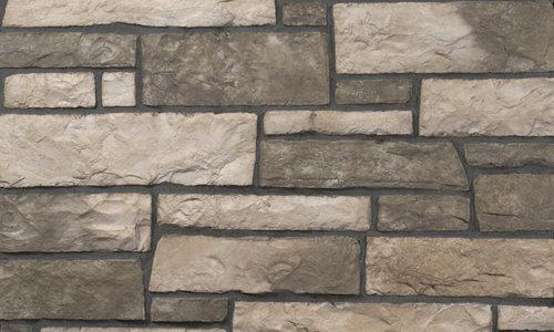 Decostone Aragone Olive, architektonisches Steinfurnier, künstlicher Stein, Oberflächenabdeckung 1.00m² pro Karton.