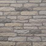 Decostone Armorique Gray, architektonisches Steinfurnier, künstlicher Stein, Oberflächenabdeckung 1.00m² pro Karton.
