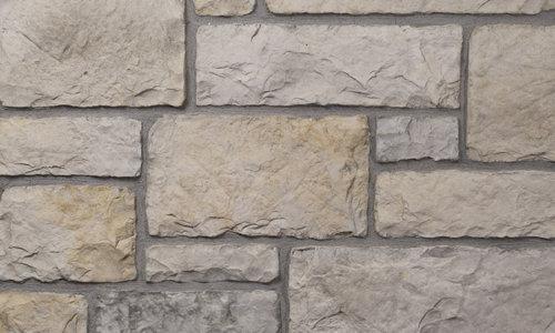 Decostone Chateau Gray, architektonisches Steinfurnier, künstlicher Stein, Oberflächenabdeckung 1m² pro Karton.