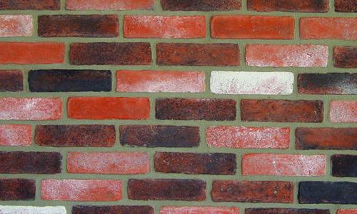 Decobrick Aged Red, architektonisches Steinfurnier, künstlicher Ziegel, Oberflächenabdeckung 0.93m² pro Karton.