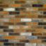 Decobrick Foggy Amber, architektonisches Steinfurnier, künstlicher Ziegel, Oberflächenabdeckung 0.93m² pro Karton