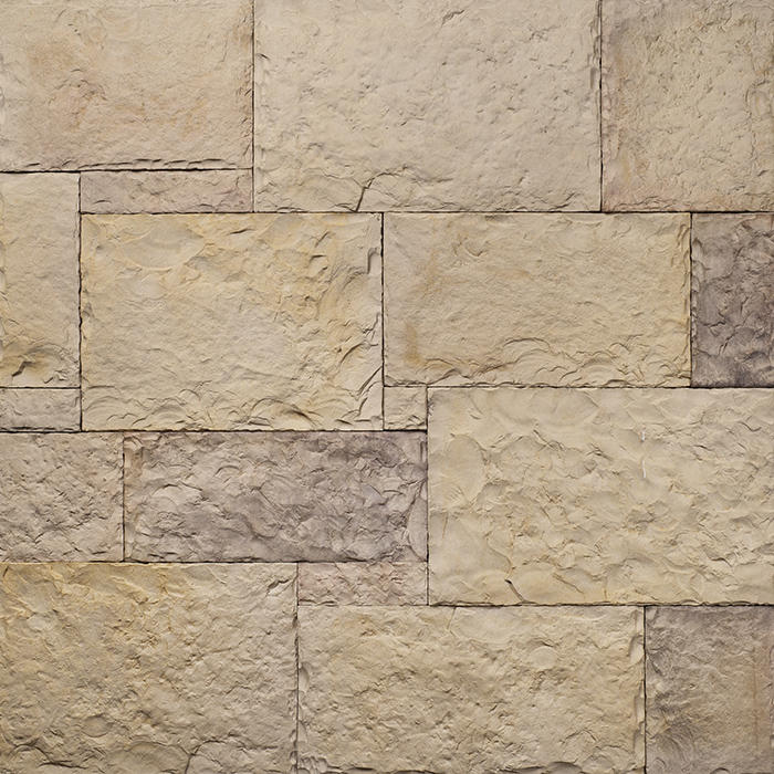 Decostone Nevada Bronze, architektonisches Steinfurnier, künstlicher Stein, Oberflächenabdeckung 1.00m² pro Karton.