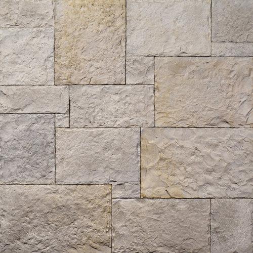 Decostone Nevada Gray, architektonisches Steinfurnier, künstlicher Stein, Oberflächenabdeckung 1.00m² pro Karton.