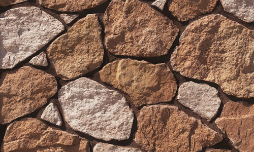 Decostone Savoie Red, architektonisches Steinfurnier, künstlicher Stein,Oberflächenabdeckung 1.00m² pro Karton.