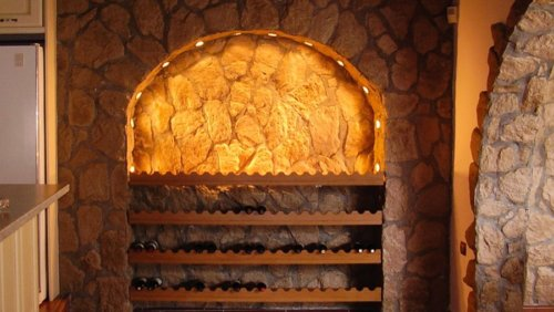 Steinkeller aus technischen Architektonische Stein Savoie Amber
