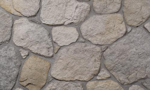 Decostone Savoie Gray, architektonisches Steinfurnier, künstlicher Stein,,Oberflächenabdeckung 1.00m² per Karton.