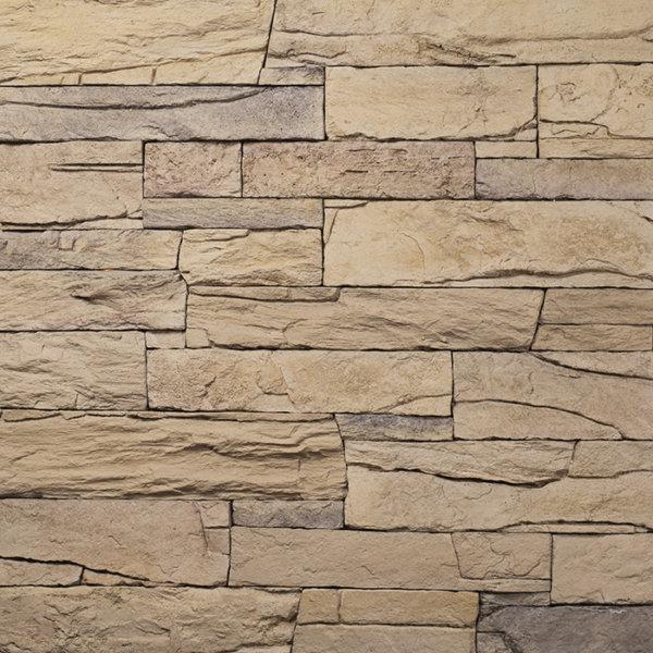 Decostone Vivid Bronze, architektonisches Steinfurnier, künstlicher Stein, Oberflächenabdeckung 1.00m² pro Karton