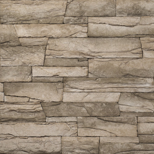 Decostone Vivid Olive , architektonisches Steinfurnier, künstlicher Stein, Oberflächenabdeckung 1.00m² pro Karton