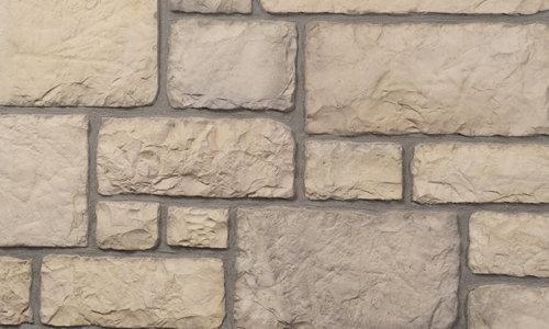 Decostone Chateau Bronze, architektonisches Steinfurnier, künstlicher Stein, Oberflächenabdeckung 1m² per Karton.